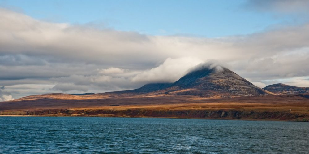 Paps of Jura mountains on the isle of Jura, Scotland